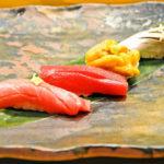 大人の雰囲気が漂う店内でいただく、本格江戸前寿司「すし六法」
